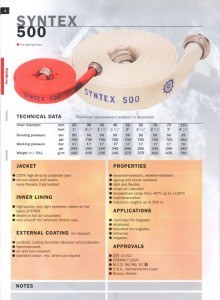 OSW Syntex 500 Fire Hose